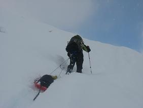 15linda hauling the sled up a slopeimg_0319