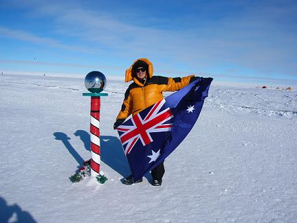 linda south pole